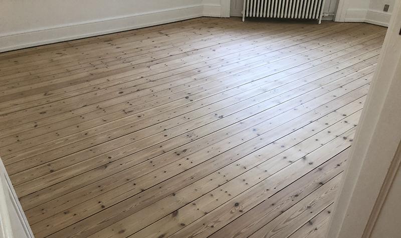 pænt gulv efter